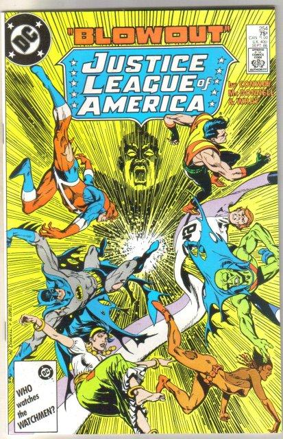 Justice League of America #254 comic book near mint 9.4