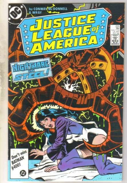 Justice League of America #255 comic book near mint 9.4