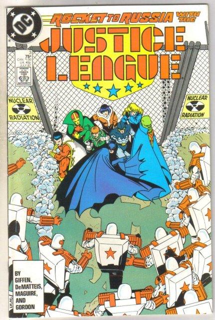 Justice League America #3 comic book near mint 9.4