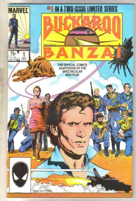Buckaroo Banzai #1 comic book near mint 9.4