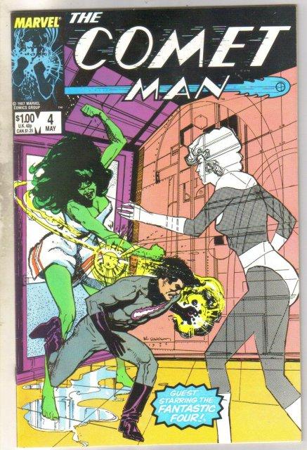 Comet Man #4 comic book near mint 9.4