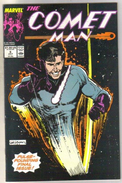 Comet Man #6 comic book near mint 9.4
