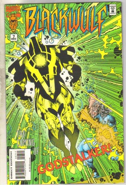 Blackwulf #7 comic book mint 9.8