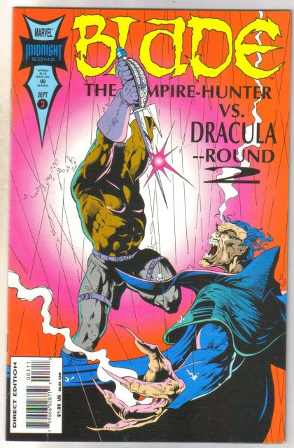 Blade The Vampire Hunter #3 comic book mint 9.8