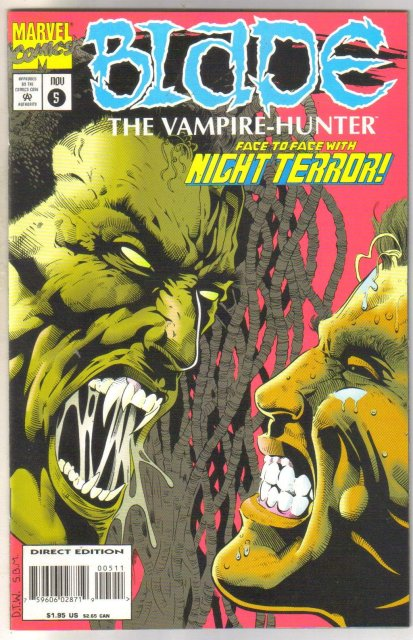 Blade The Vampire Hunter #5 comic book mint 9.8