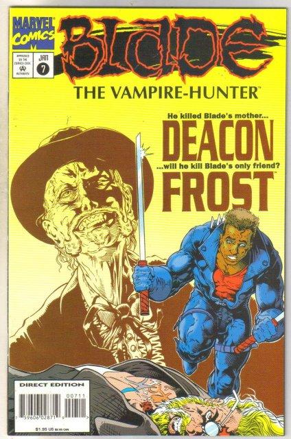 Blade The Vampire Hunter #7 comic book mint 9.8