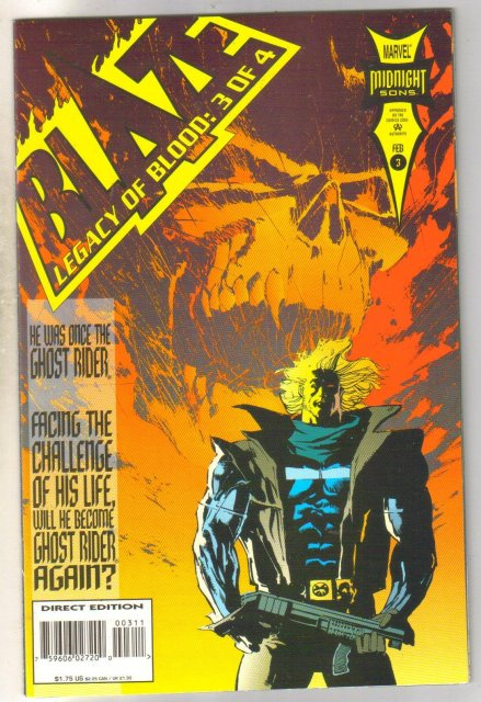 Blaze Legacy of Blood #3 comic book near mint 9.4