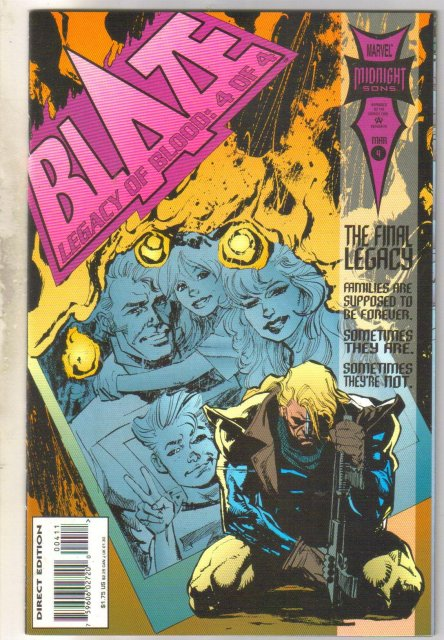 Blaze Legacy of Blood #4 comic book near mint 9.4