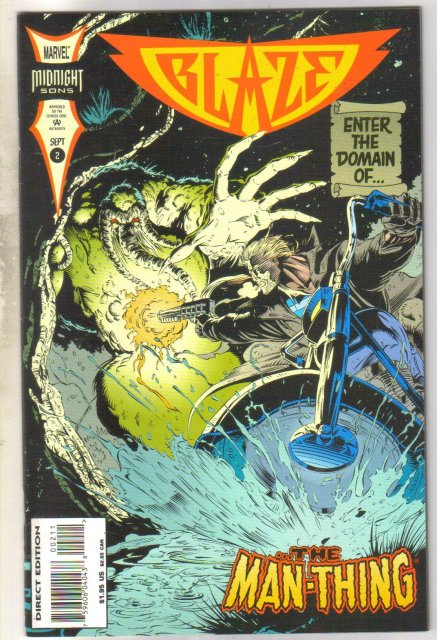 Blaze #2 comic book near mint 9.4