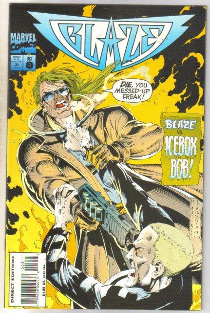 Blaze #3 comic book near mint 9.4