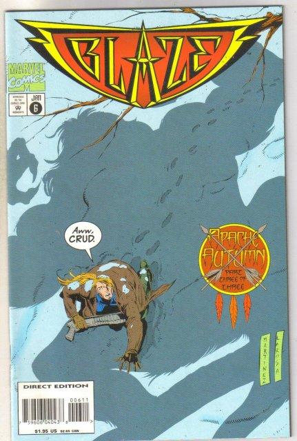 Blaze #6 comic book near mint 9.4