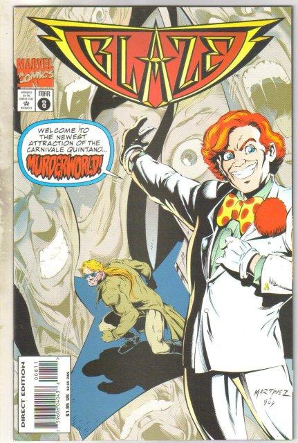 Blaze #8 comic book near mint 9.4