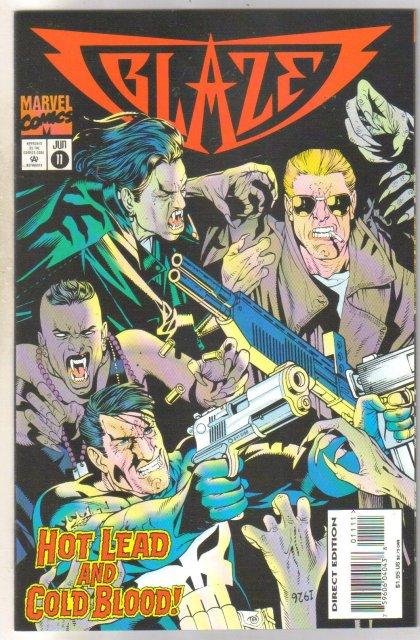 Blaze #11 comic book near mint 9.4