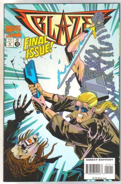 Blaze #12 comic book near mint 9.4