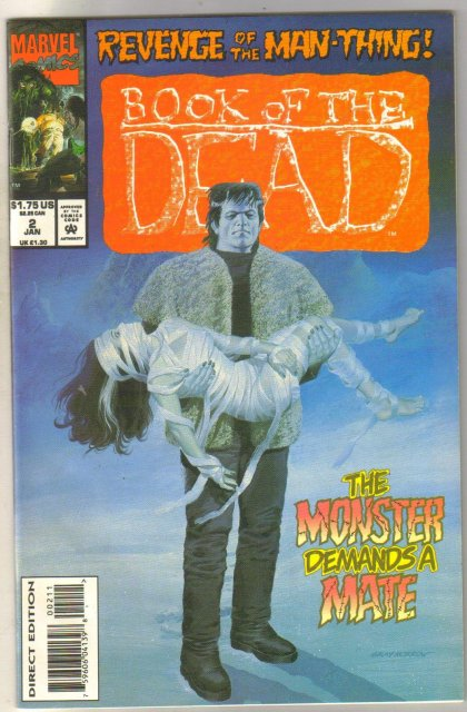 Book of the Dead #2 comic book near mint 9.4