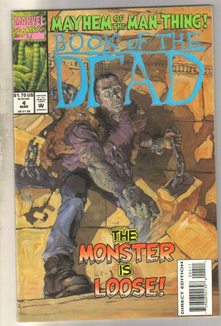 Book of the Dead #4 comic book near mint 9.4