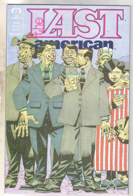 The Last American #3 comic book near mint 9.4