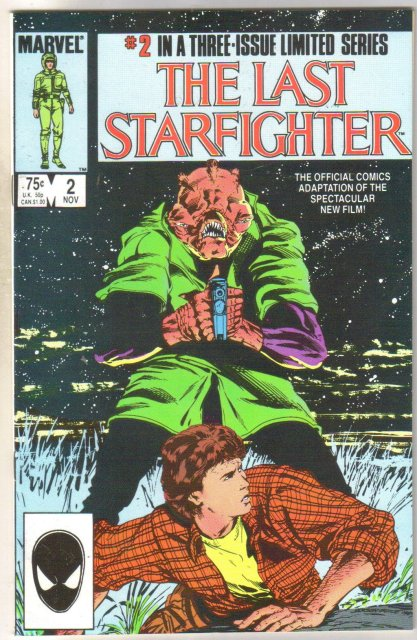 The Last Starfighter #2 comic book near mint 9.4
