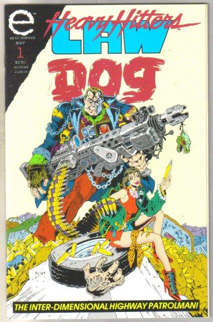 Law Dog #1 comic book near mint 9.4