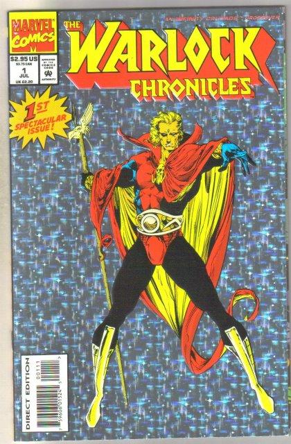 Warlock Chronicles #1 comic book near mint 9.4