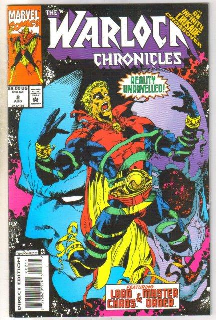 Warlock Chronicles #2 comic book near mint 9.4
