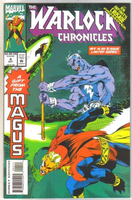 Warlock Chronicles #4 comic book near mint 9.4