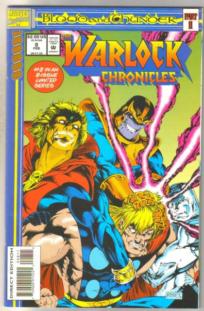 Warlock Chronicles #8 comic book near mint 9.4