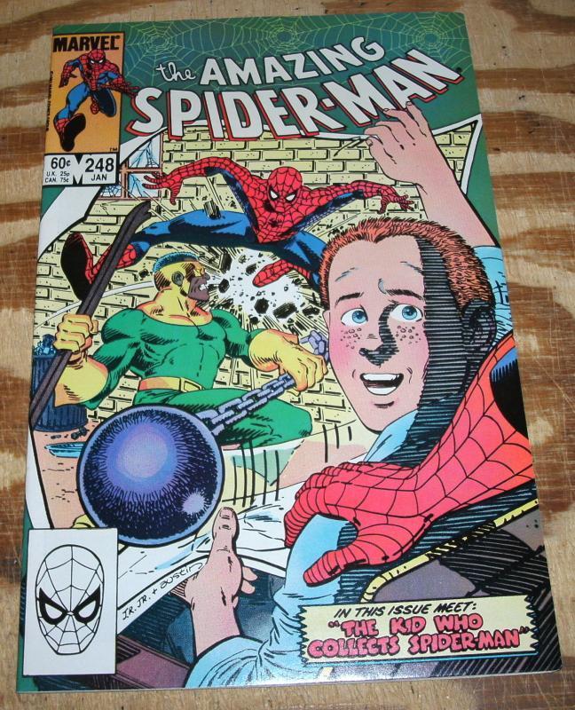 Amazing Spider-man #248  near mint 9.4