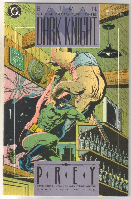 Batman Legends of the Dark Knight #12 comic book near mint 9.4