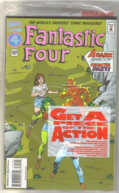 Fantastic Four #394 comic book near mint 9.4