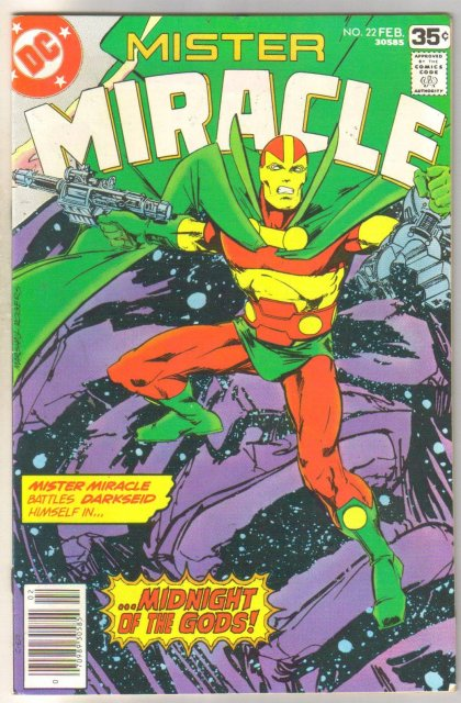 Mister Miracle #22 original series comic book very fine 8.0