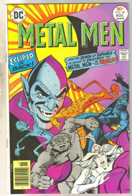 Metal Men #48 comic book very fine 8.0