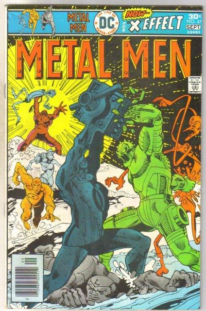 Metal Men #47 comic book very fine 8.0