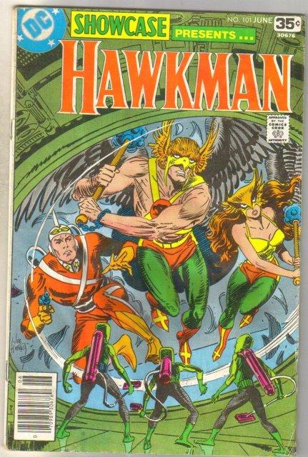 Showcase presents Hawkman #101 comic book very good 4.0