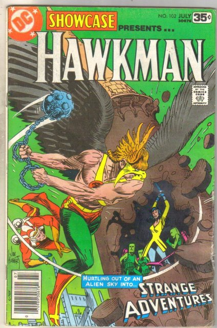Showcase presents Hawkman #102 comic book very good 4.0