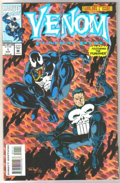 Venom Funeral Pyre #1 comic book  mint 9.8