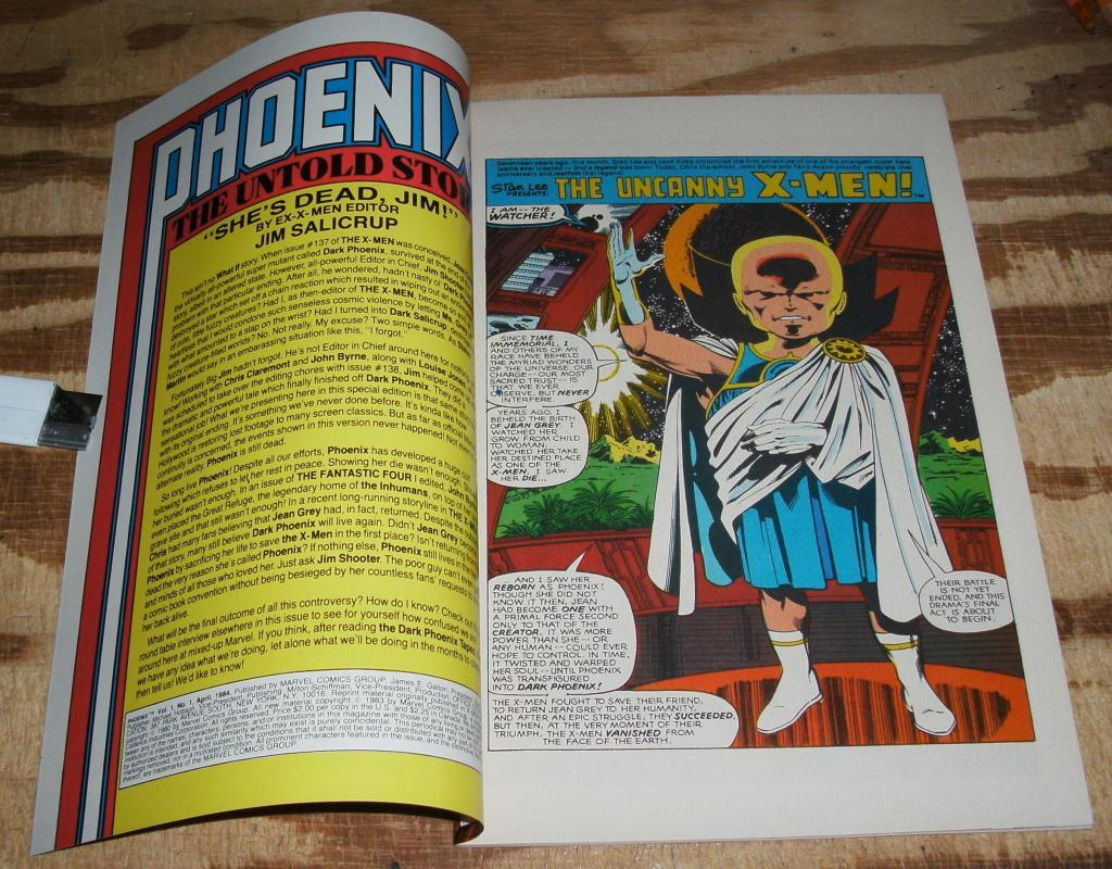 Phoenix The Untold Story nm+ 9.6