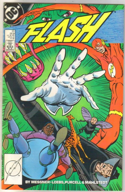 Flash #23 comic book near mint 9.4