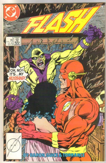 Flash #5 comic book near mint 9.4