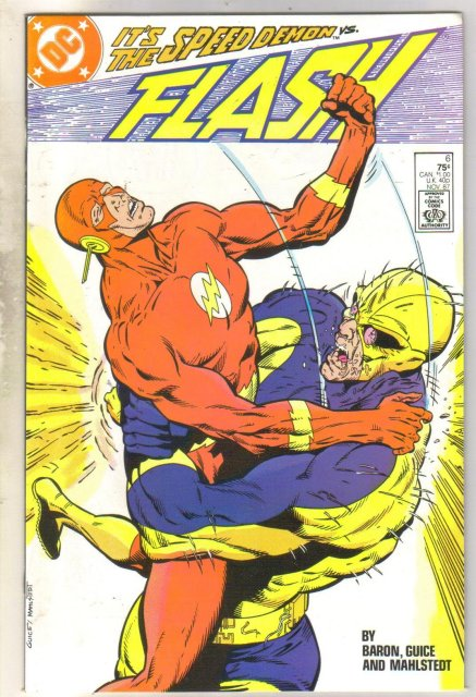 Flash #6 comic book near mint 9.4