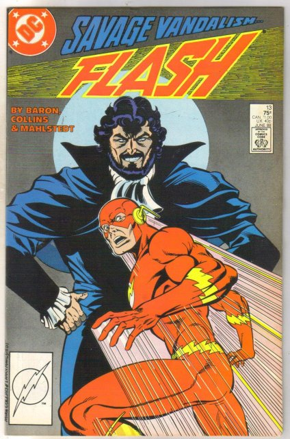 Flash #13 comic book near mint 9.4