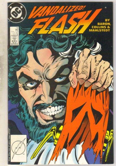 Flash #14 comic book near mint 9.4