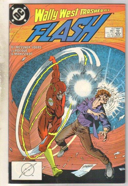 Flash #15 comic book near mint 9.4