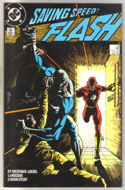 Flash #16 comic book near mint 9.4