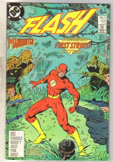 Flash #21 comic book near mint 9.4