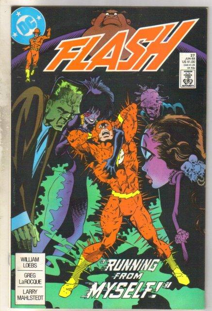 Flash #27 comic book near mint 9.4