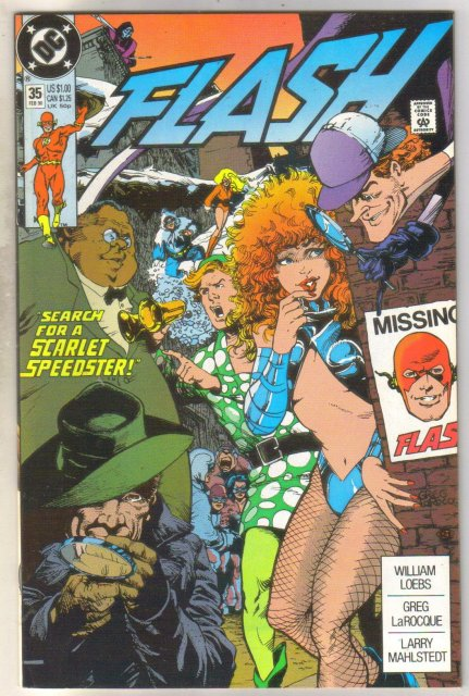 Flash #35 comic book  mint 9.8