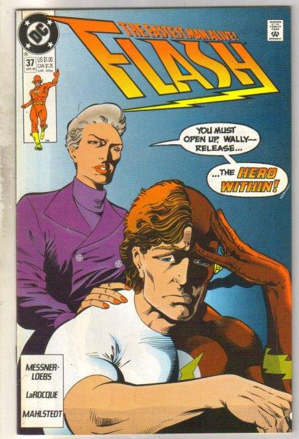 Flash #37 comic book  mint 9.8