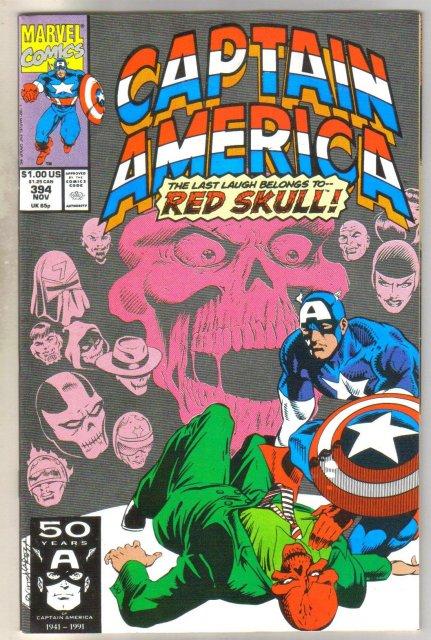 Captain America #394 comic book near mint 9.4