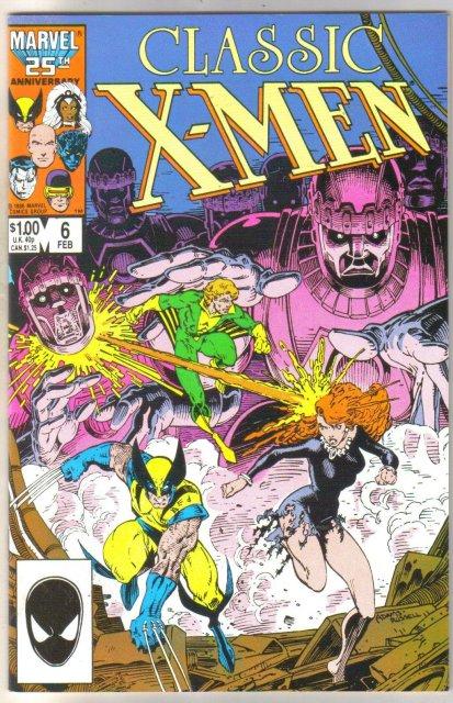 Classic X-Men #6 comic book mint 9.8